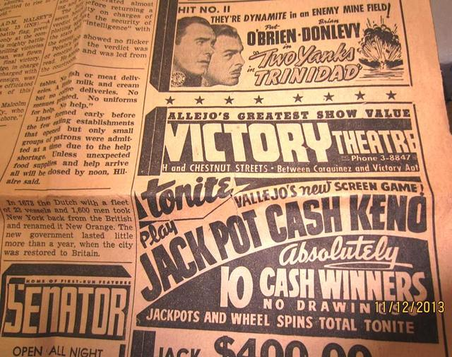 Victory Theatre Advertisment