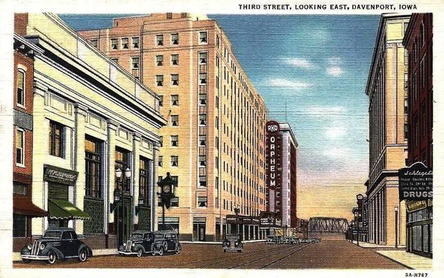 Postcard circa 1940.