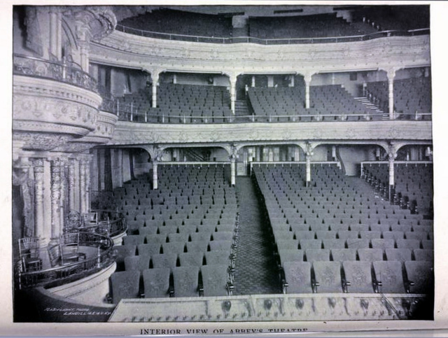 Abbey's Theatre New York in 1895 - 38th Street and Broadway
