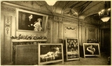 Central Theatre New York 1924 - Lobby display for Daytime Wives