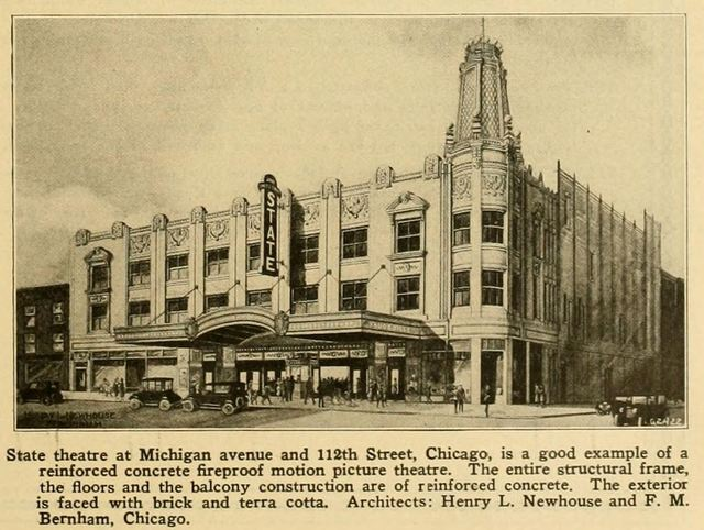 State Theatre, Chicago IL., in 1924