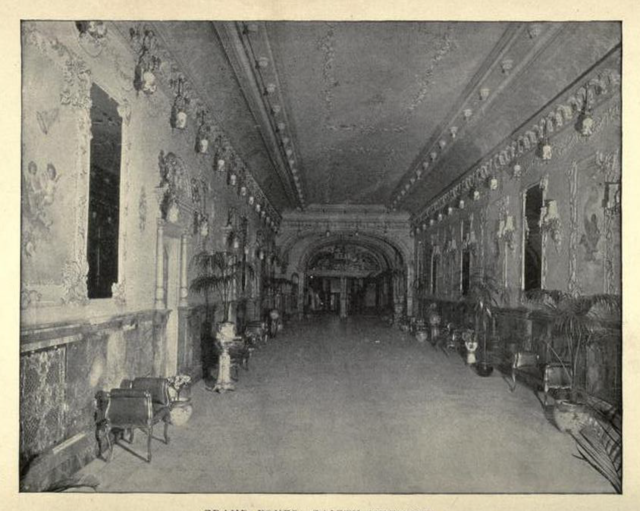 B. F. Keith's Theatre Boston 1895 - Grand Foyer