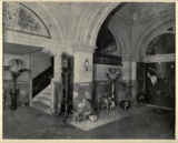 B. F. Keith's Theatre, Boston 1895 - Corner of Grand Foyer