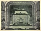 B. F. Keith's Theatre Boston 1895 - View of the Stage