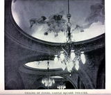 Castle Square Theatre Boston 1895 - Ceiling of Foyer