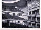 Castle Square Theatre Boston 1895 - View from stage