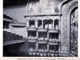 Castle Square Theatre Boston 1895 - Proscenium Arch and Boxes
