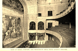 Fifth Avenue Theatre New York 1895 - Boxes, Curtain and Proscenium Arch