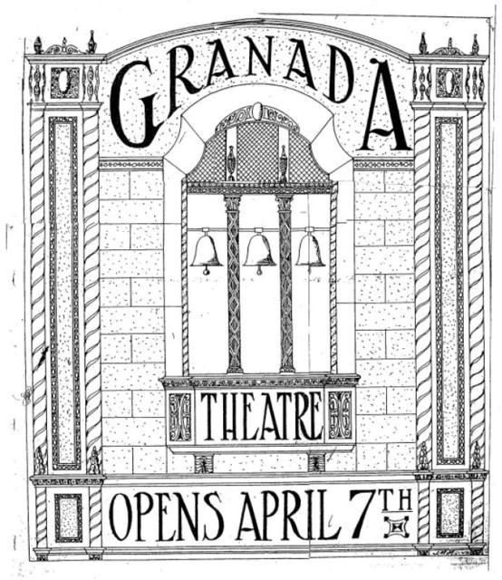 Racine: GRANADA Theatre opening ad.