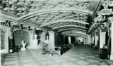 Lobby of the Indiana Theatre, Terre Haute, IN in 1922