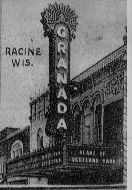 Racine: GRANADA Theatre.