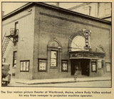 Star Theatre, Westbrook, Maine ca1930