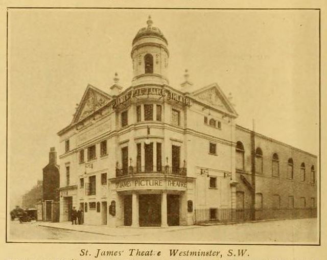 St James Theatre, Westminster, London in 1924