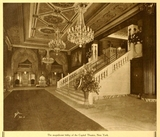 Lobby of the Capitol Theatre, New York in 1924