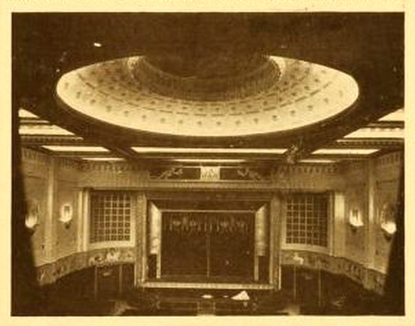 New Gallery Cinema, London 1925 - Auditorium and Dome