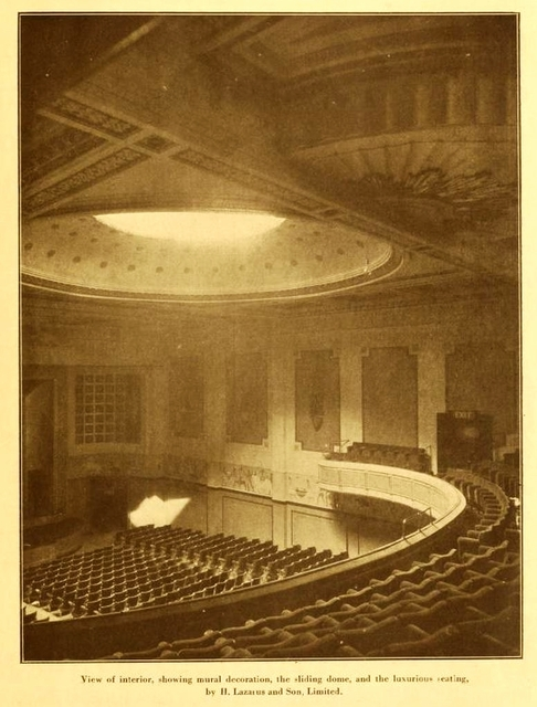 New Gallery Cinema, London 1925 - Auditorium