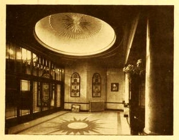 New Gallery Cinema, London 1925 - Lobby