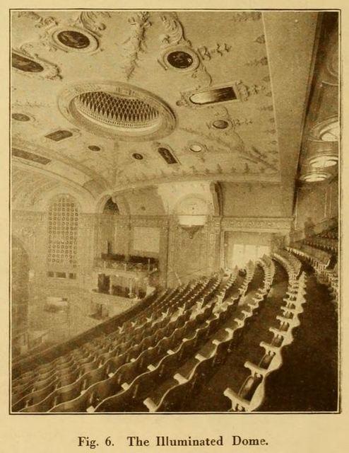 Capitol Theatre, Haymarket, London 1925 - Illuminated Dome
