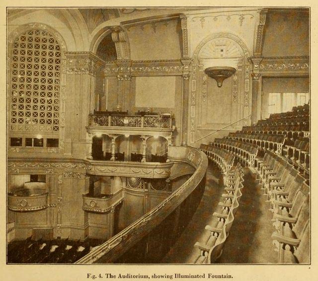 Capitol Theatre, Haymarket, London 1925 - Auditorium