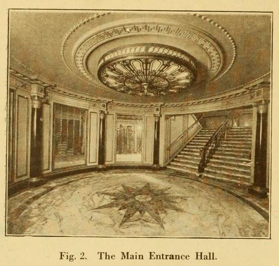 Capitol Theatre, Haymarket, London 1925 - Main Entrance Hall