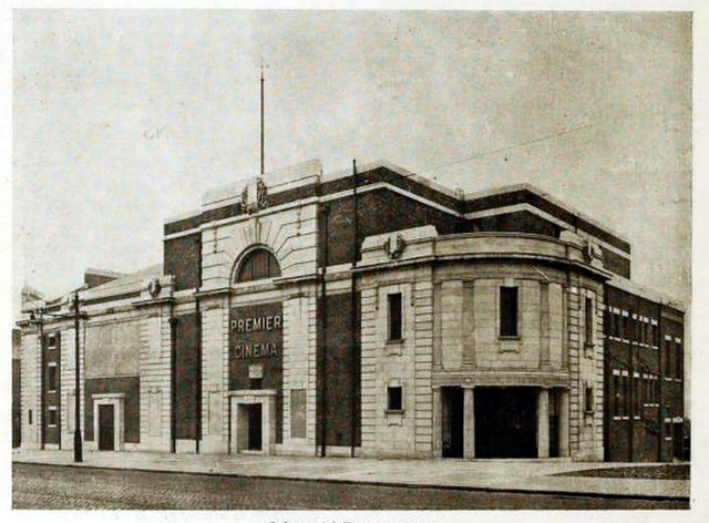 Premier Cinema, Cheetham Hill 1925 - Exterior