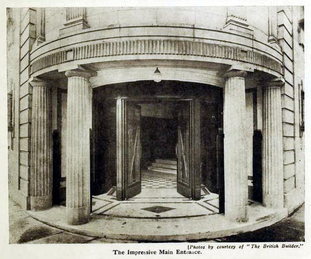 Premier Cinema, Cheetham Hill 1925 - Main Entrance