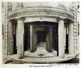 Premier Cinema, Cheetham Hill 1925 - Main Entrance