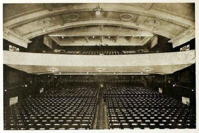 Premier Cinema, Cheetham Hill 1925 - Auditorium