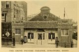 Grove Picture Theatre, Stratford, Essex in 1912