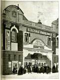 Electric Pavilion Cinema, High Street, Clapham in 1912