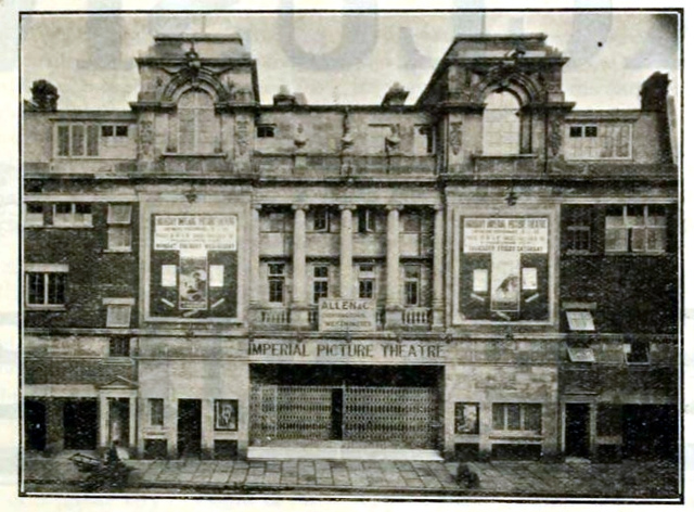 Imperial Cinema, Highbury, London 1912/13