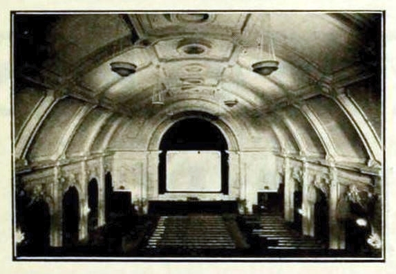 Angel Cinema, Islington, London 1913 - Auditorium