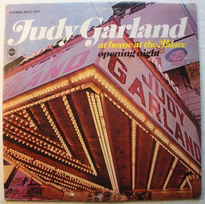 1967 Judy Garland album cover image courtesy and property of ABC Records.
