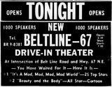 Belt Line-67 Drive-In