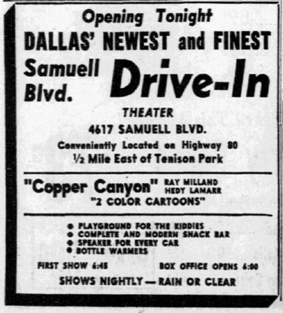 Samuell Boulevard Drive-In