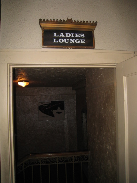 Oriental Theatre Ladies Lounge