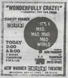 """Mad World"" at Warner Cinerama"