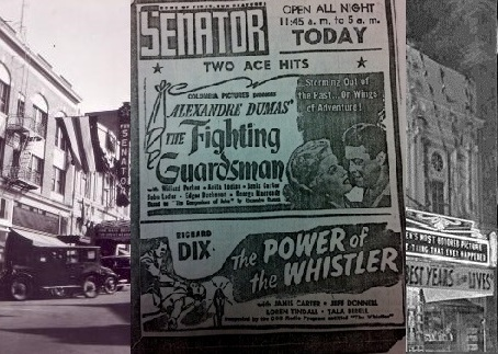 Senator Theatre Advertisment 1946