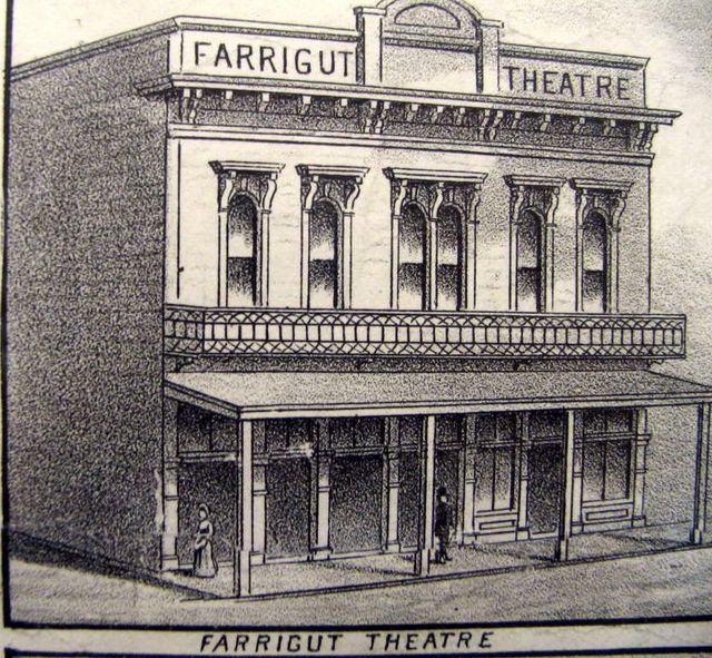 Farragut Theatre Drawing