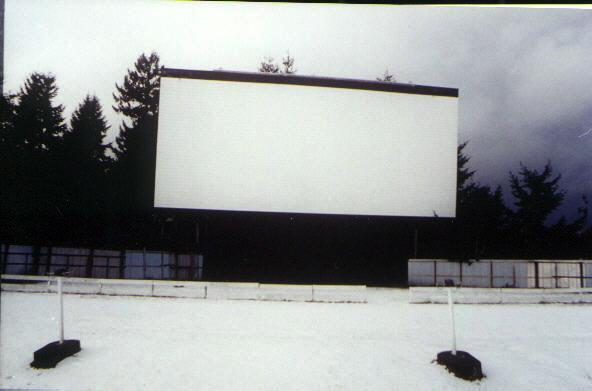 Screen in snow