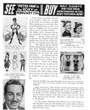 <p>Walt Disney's animated PETER PAN comes to the NY ROXY, Feb 1953.</p>