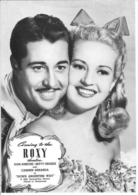 NY ROXY coming attraction featured in 1940 program