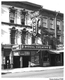Royal Theatre Exterior circa 1930s