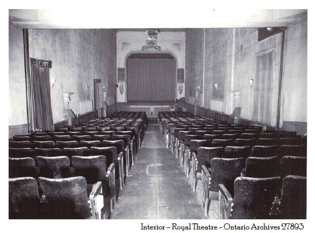 Royal Theatre Interior circa 1930s
