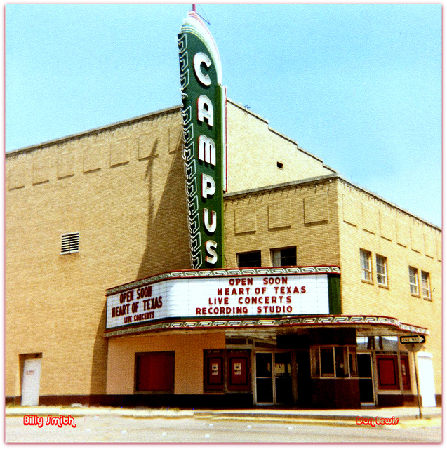 Campus Theatre© Denton TX / Billy Smith / Don Lewis