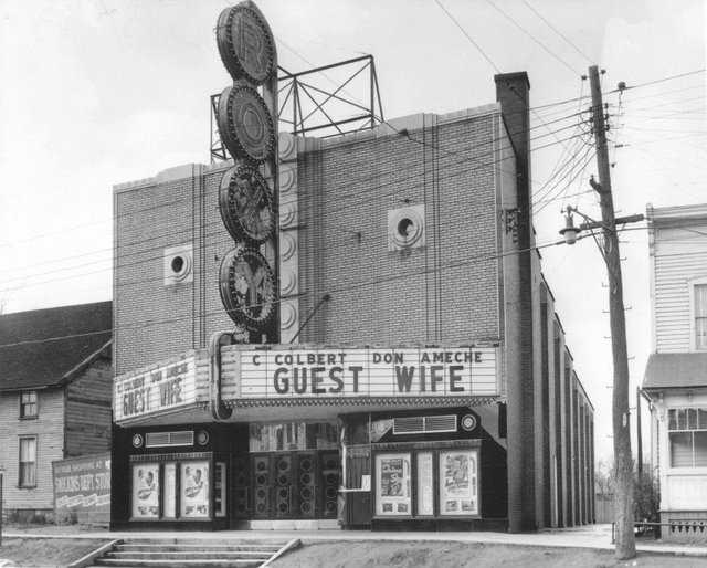 Port Theater When it was the Roxy circa 1950's