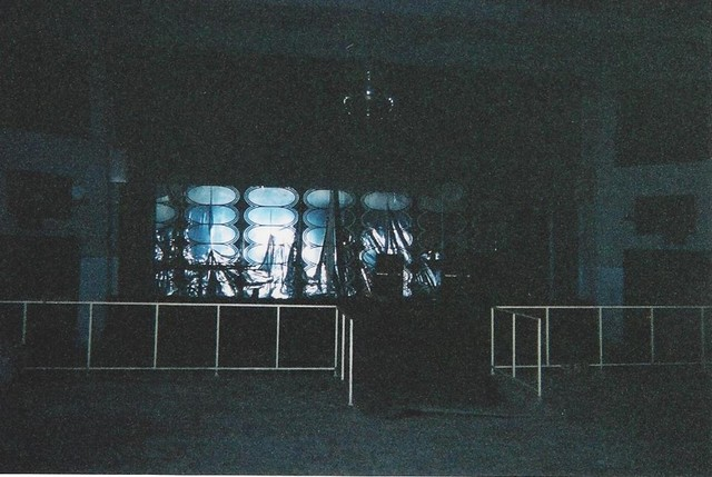 Regal Back(stage) interior wall circa 2005