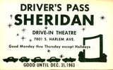 SHERIDAN Drive-In Theatre; Bridgeview, Illinois.