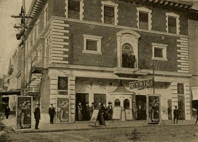 Lyric Theatre, Shenandoah, Pennsylvania, ca.1913