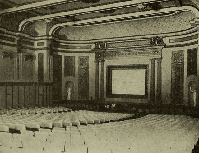 Auditorium, Empire Theatre, Montgomery, Alabama, ca.1917